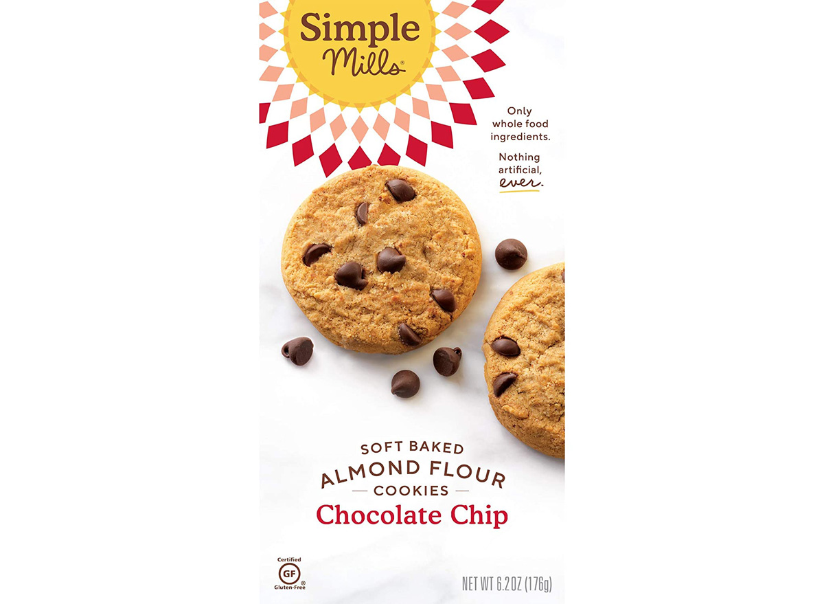 Simple mills almond flour baked chocolate chip cookies