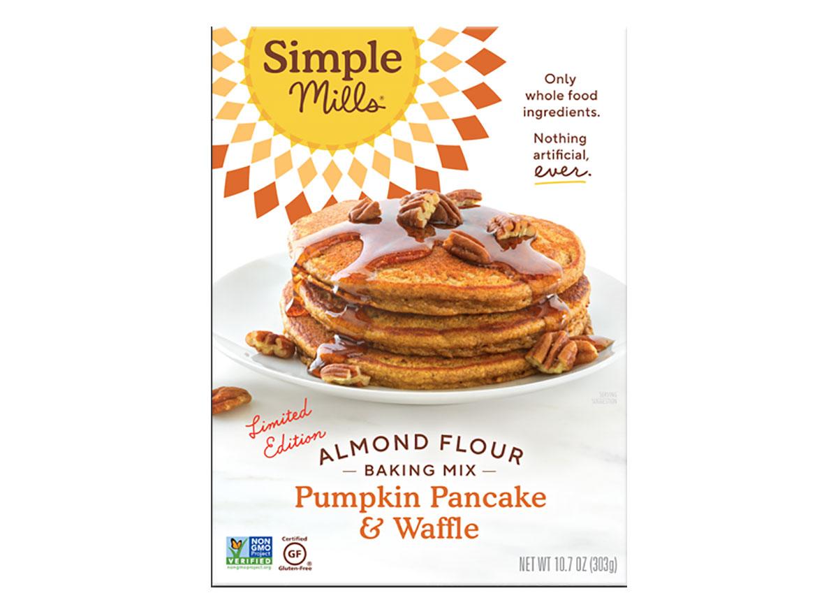 box of simple mills pumpkin baking mix