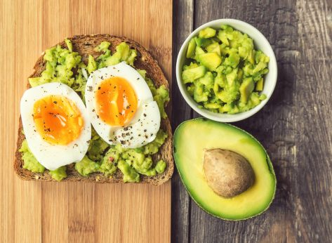 soft boiled egg avocado toast