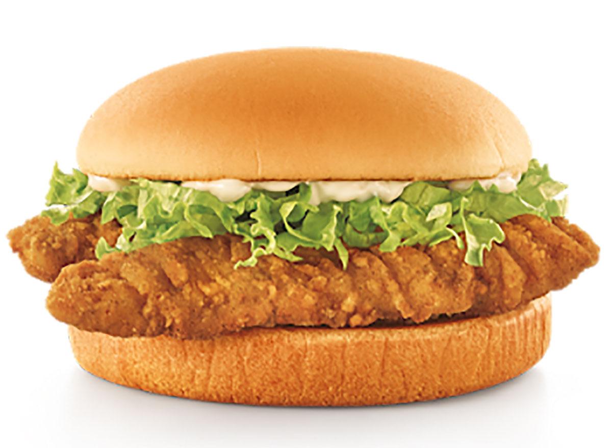 sonic crispy tender sandwich