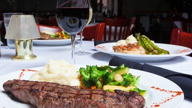 steakhouse dinner