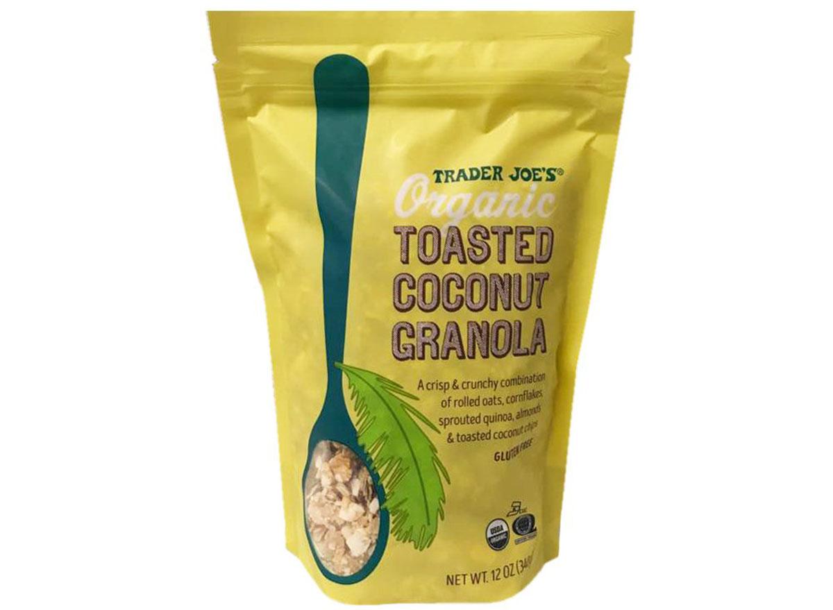 toasted coconut granola