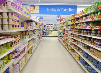 walmart baby food aisle