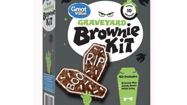 walmart graveyard brownie kit