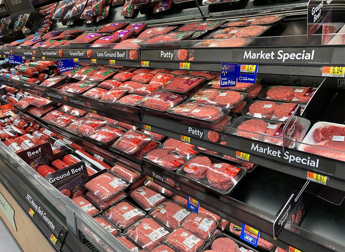 meat aisle