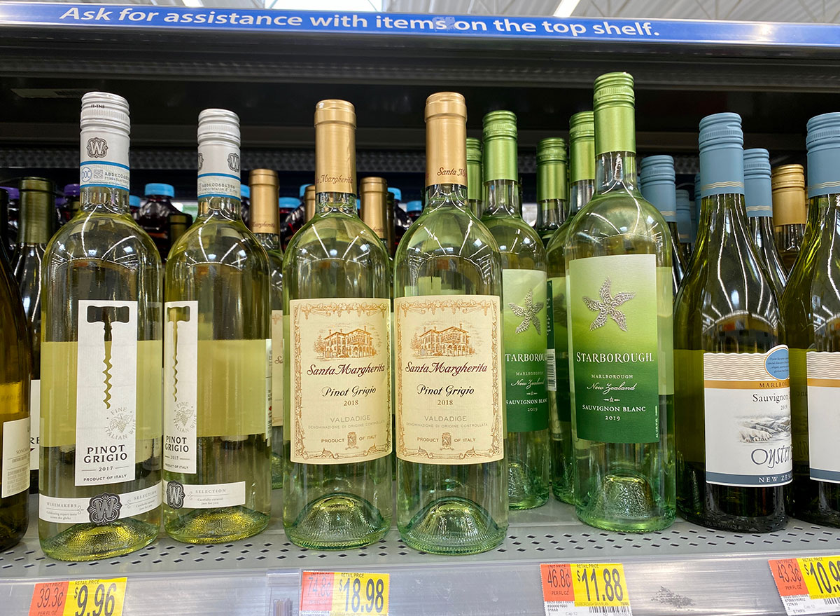 Walmart white wine