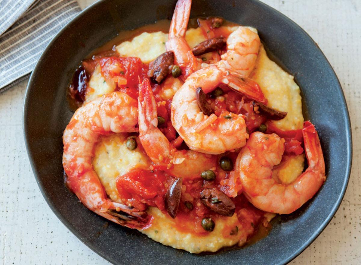 shrimp with polenta