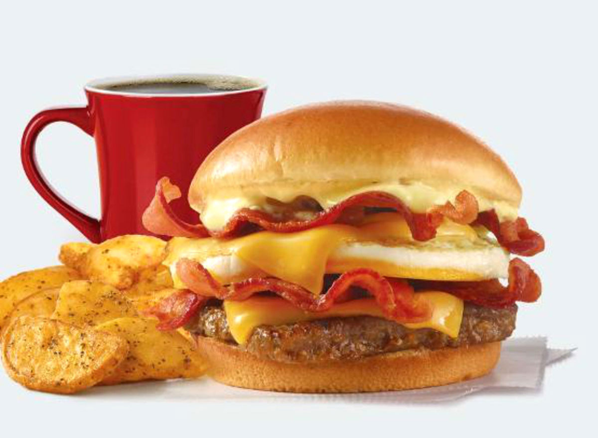 wendys breakfast