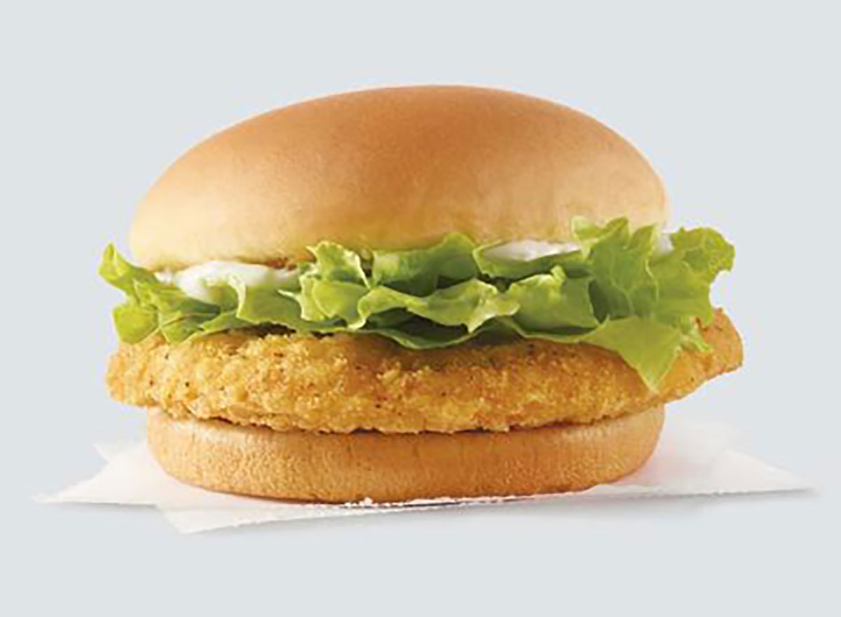 wendys crispy chicken sandwich