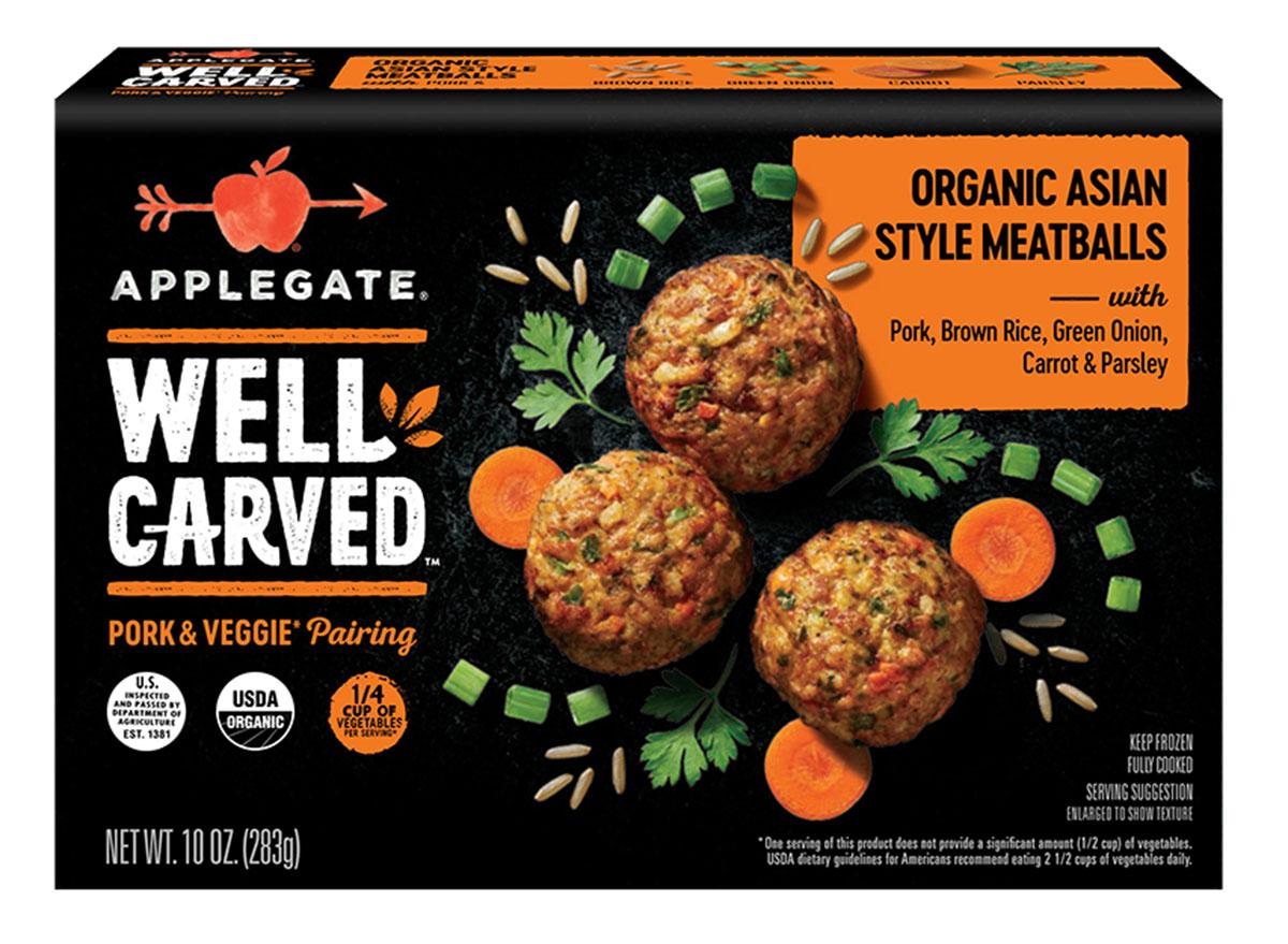 applegate pork meatballs