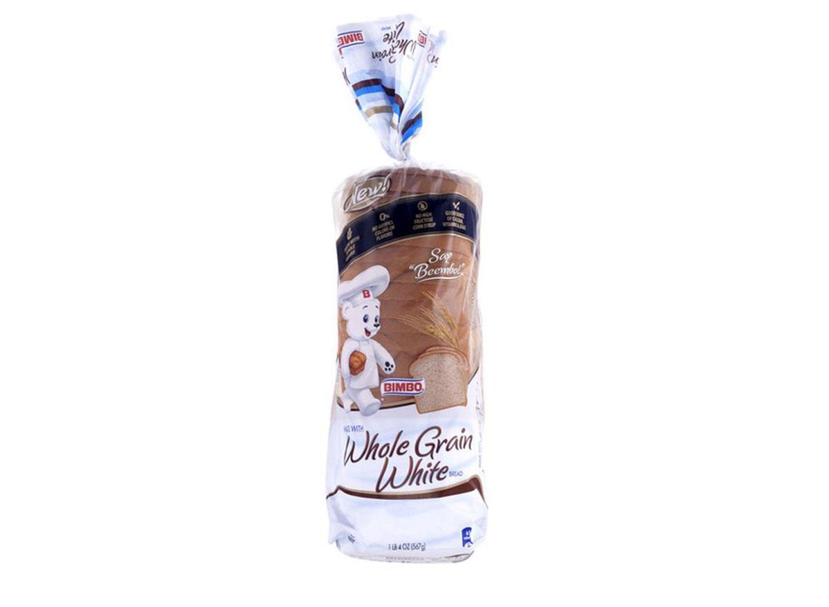 bimbo whole grain white bread
