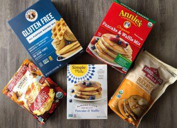 boxes of pancake mix