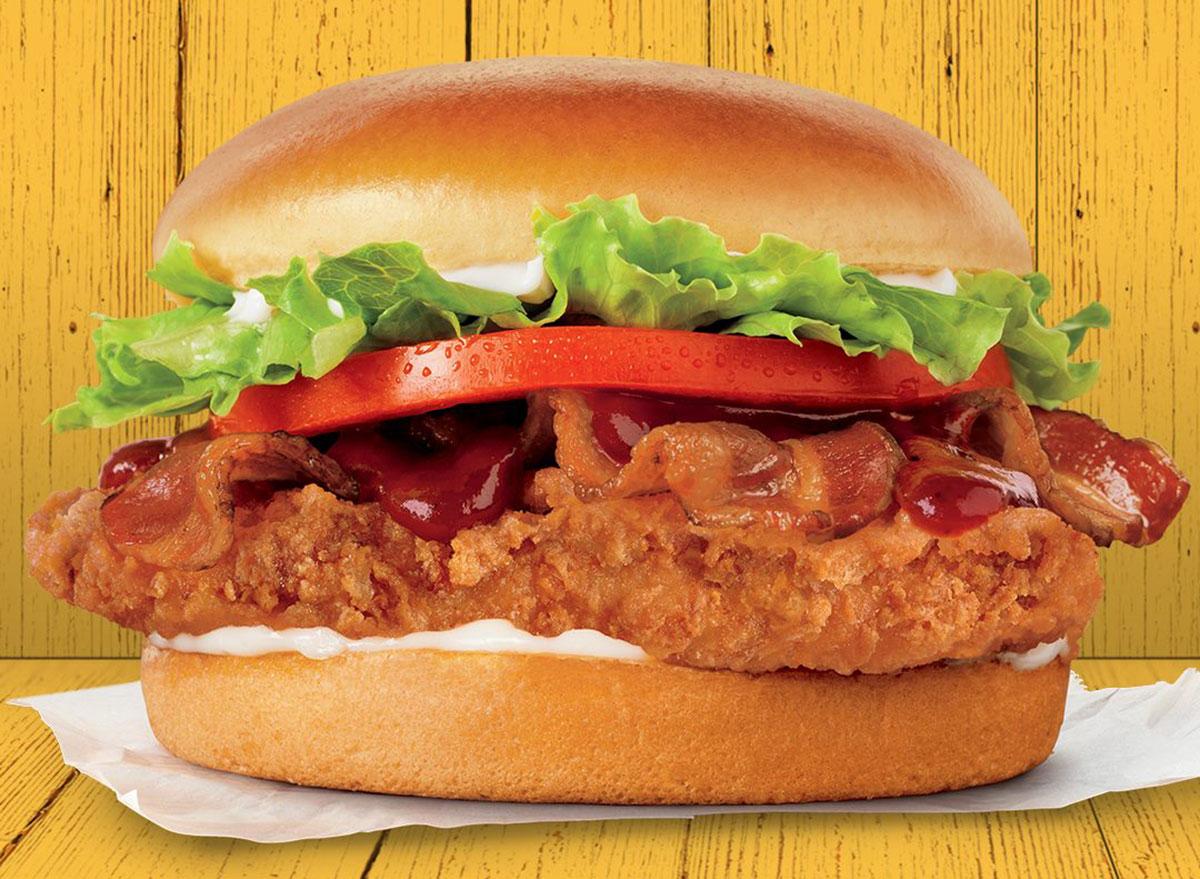 burger king crispy bacon chicken sandwich