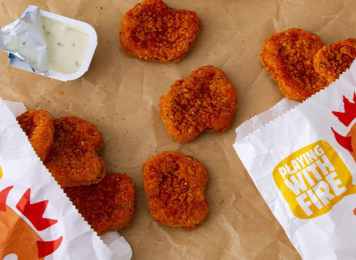 burger king spicy nuggets