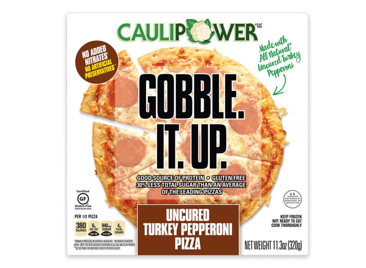 caulipower turkey pepperoni pizza