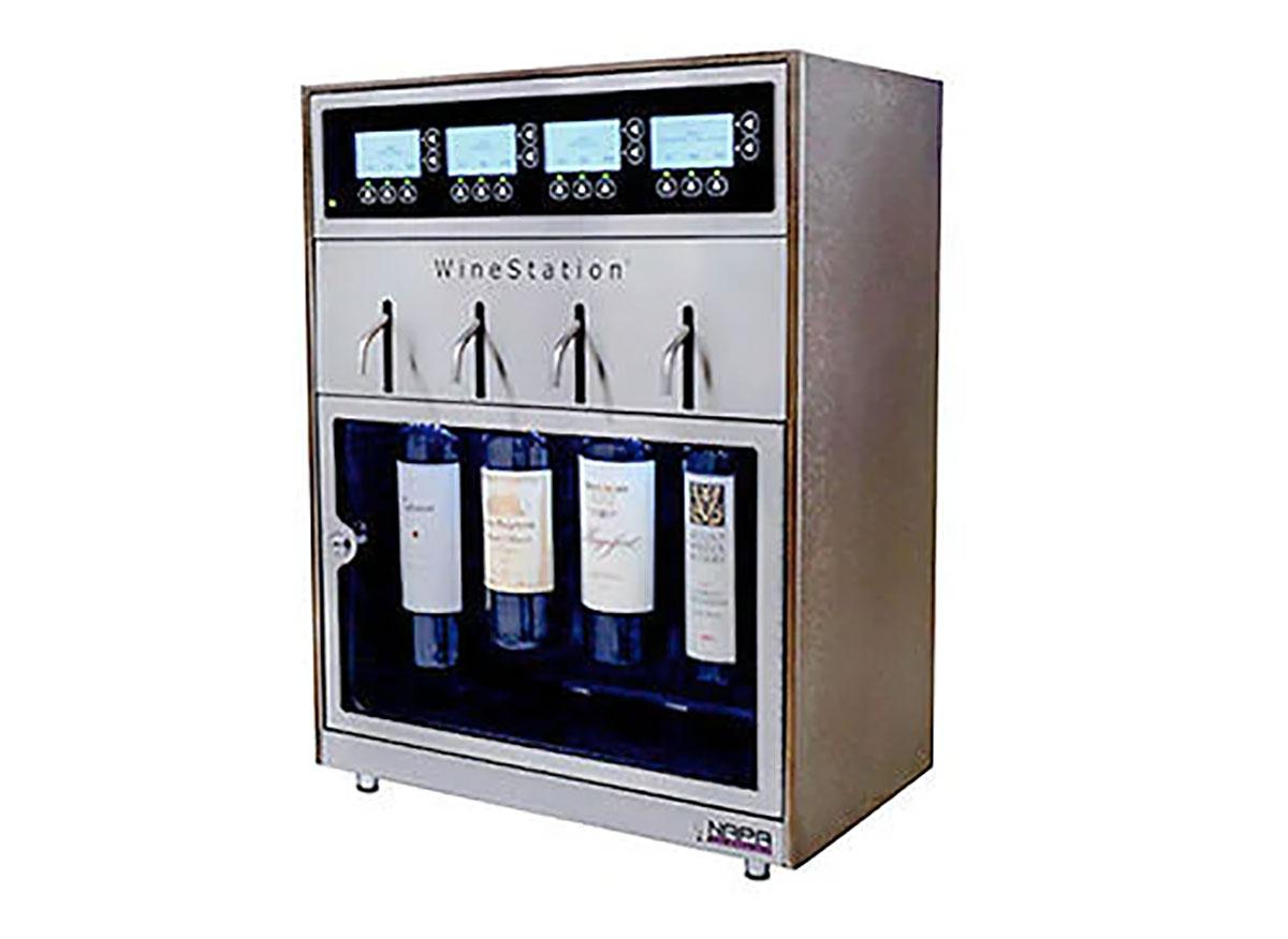 costco winestation wine tap