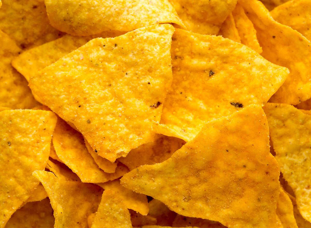 doritos closeup nacho cheese chips