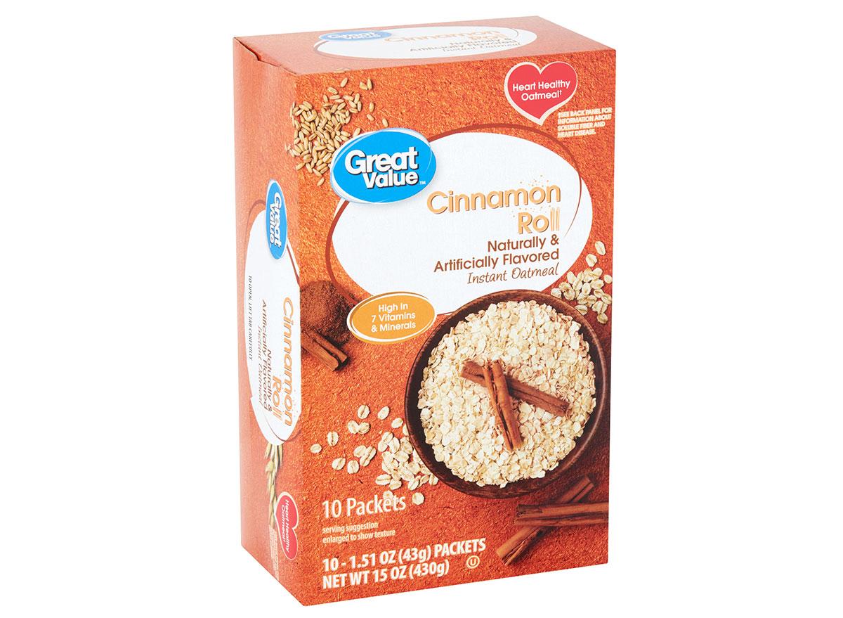 great value cinnamon roll