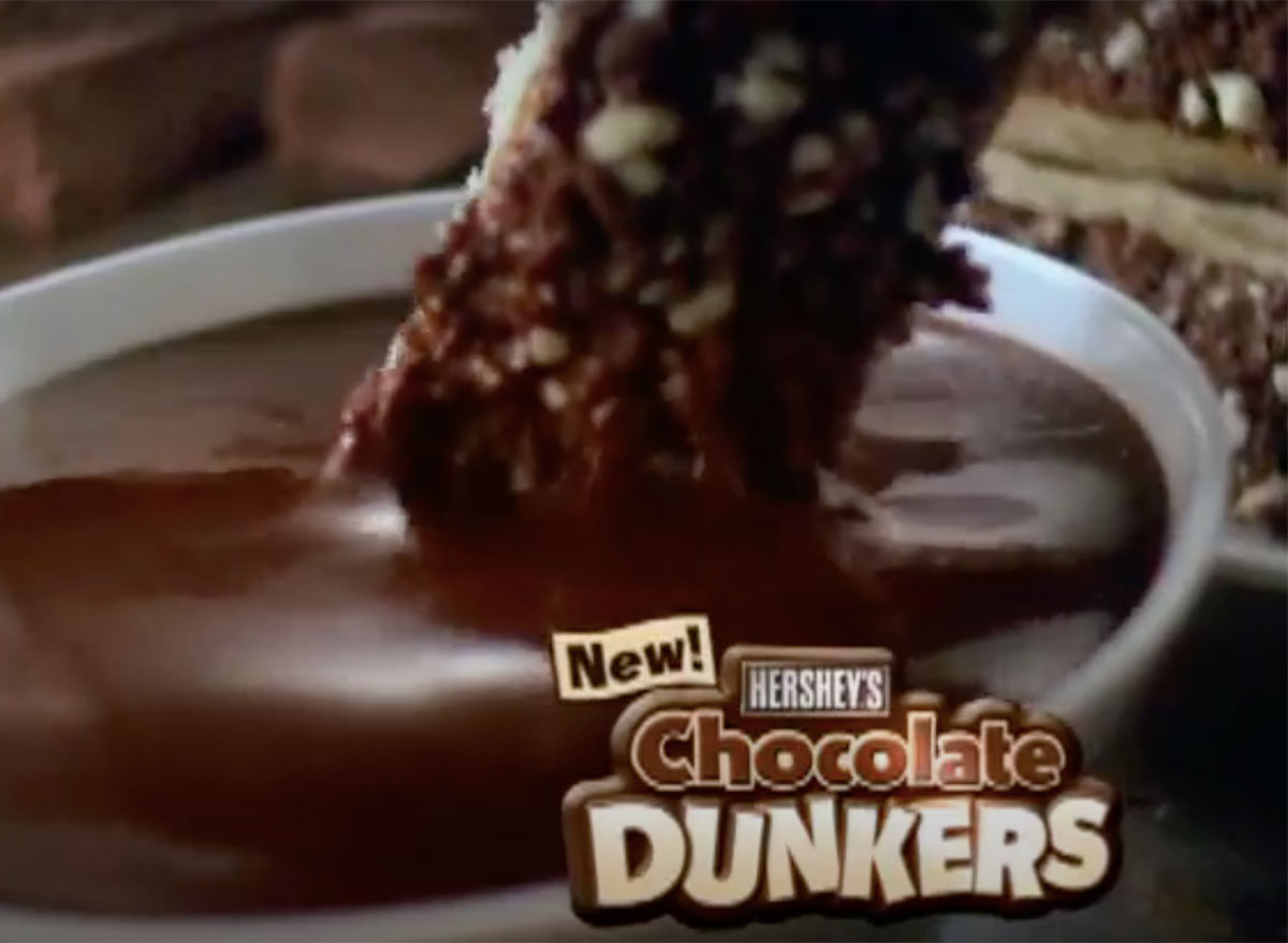 hersheys chocolate dunkers commercial