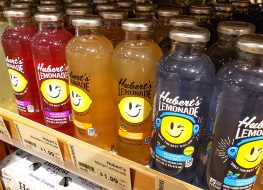 huberts lemonade store shelf