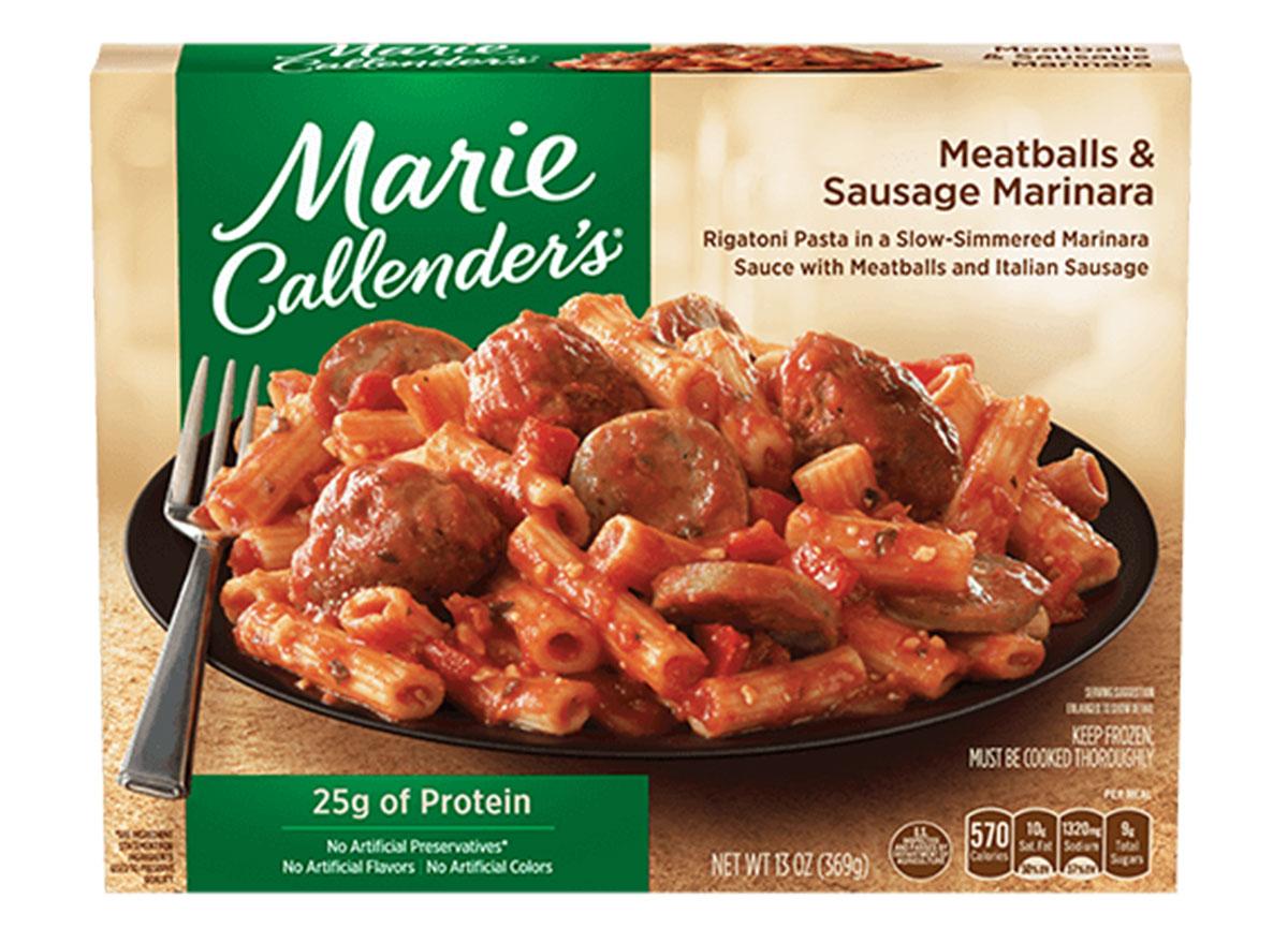 marie callenders meatball marinara