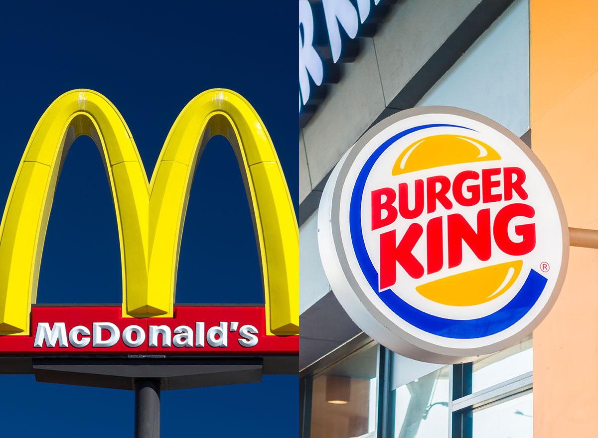 mcdonalds burger king