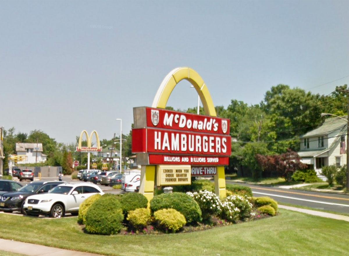 mcdonalds google streetview
