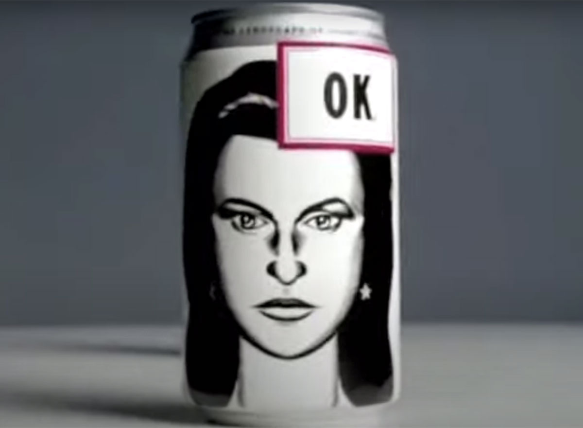 can of ok soda 90s coke drink