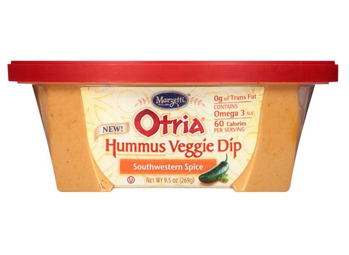 otria hummus veggie dip