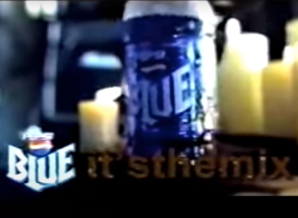 pepsi blue commercial still