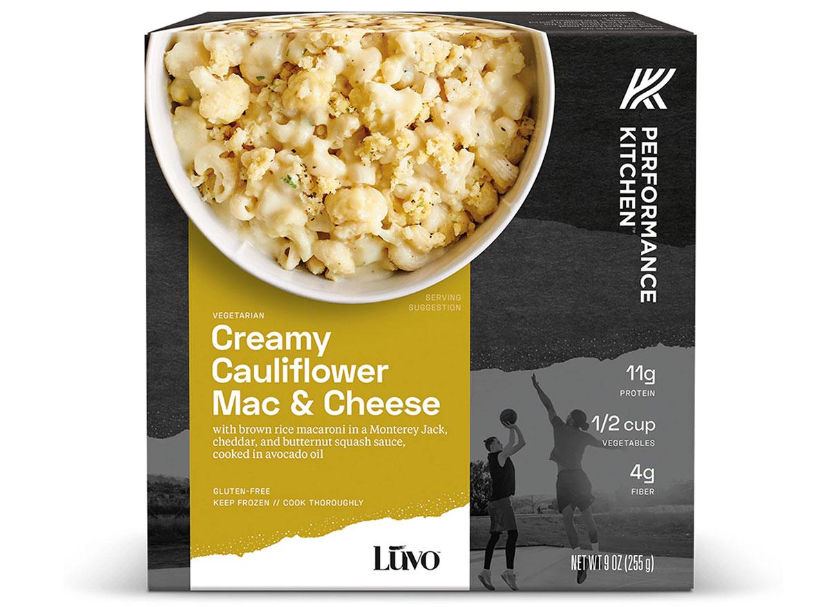 performance kitchen cauliflower mac and cheese