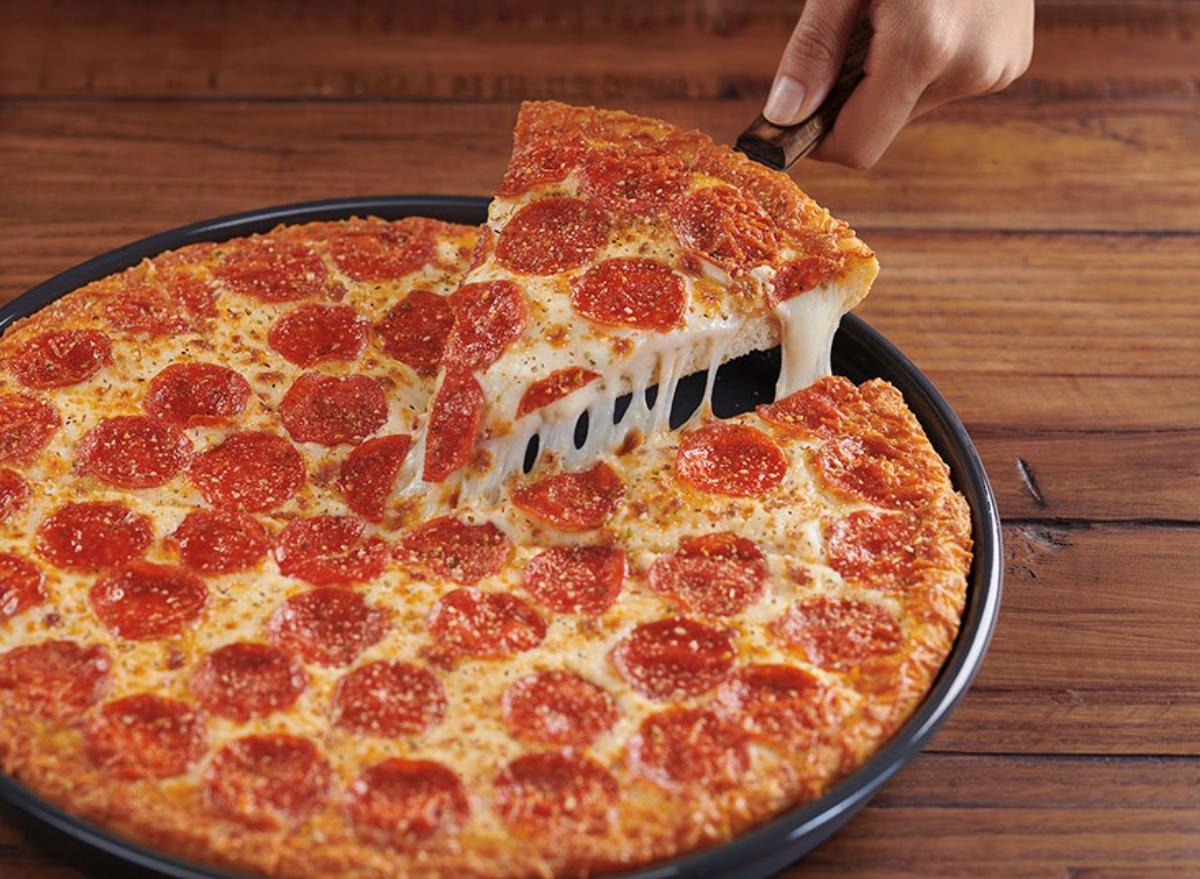 pizza hut stuffed pizza