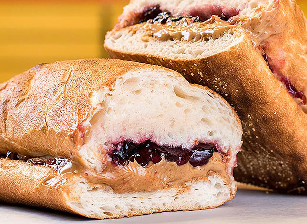potbelly pbj sandwich