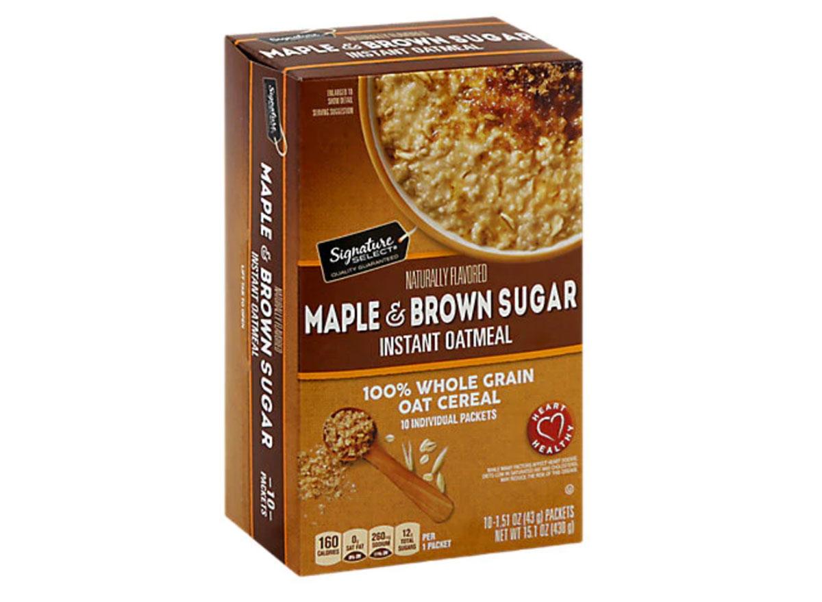 safeway maple and brown sugar