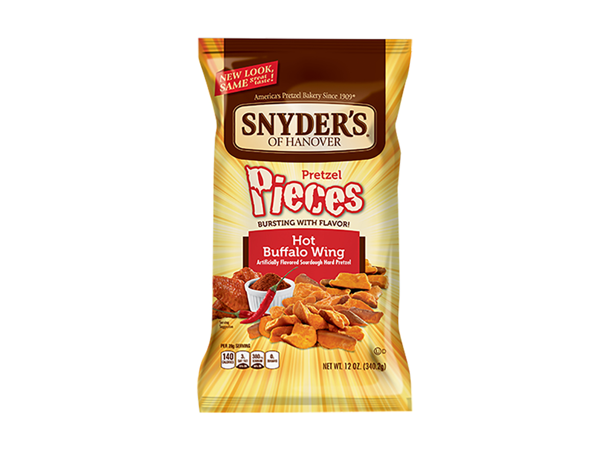snyders hot buffalo wing pretzels