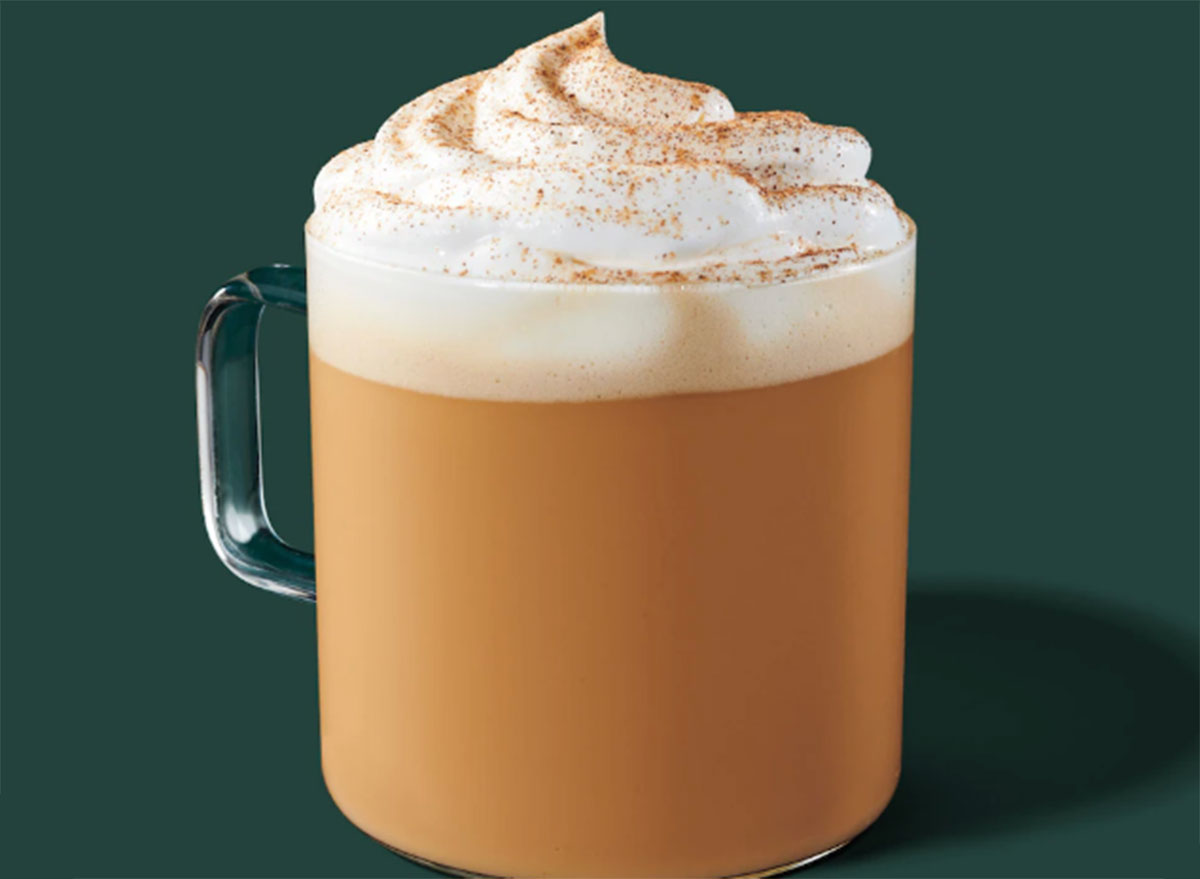 starbucks pumpkin spice latte