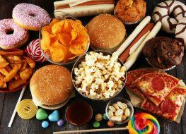unhealthy junk food