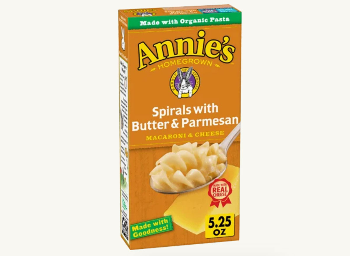 annies butter and parmesan