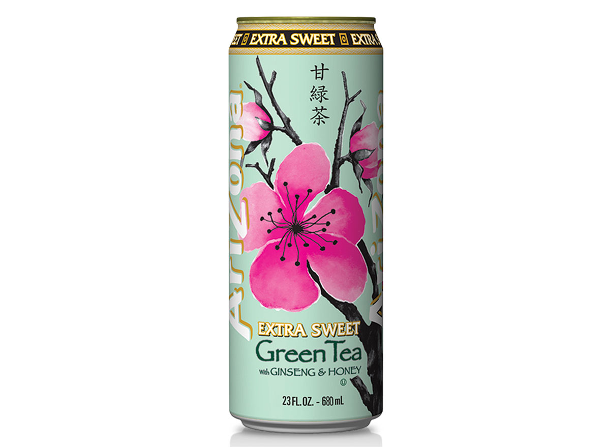arizona extra sweet green tea