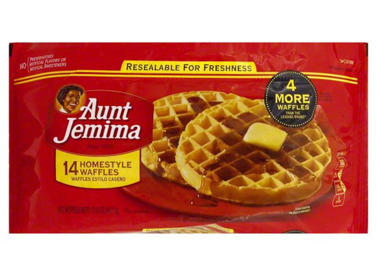 aunt jemima frozen waffles