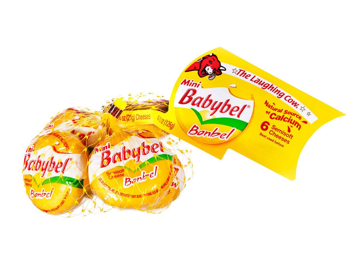 babybel yellow cheese