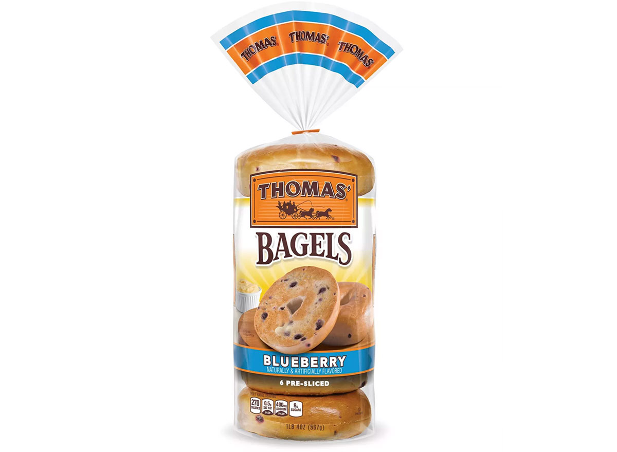 bagels blueberry