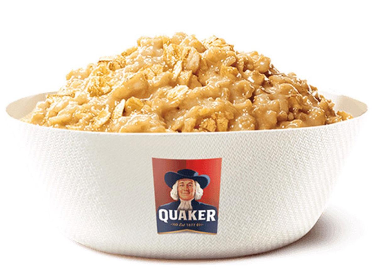 burger king maple oatmeal