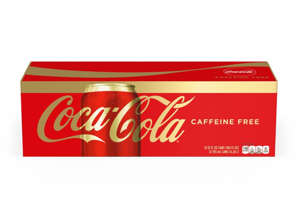 caffeine free coke
