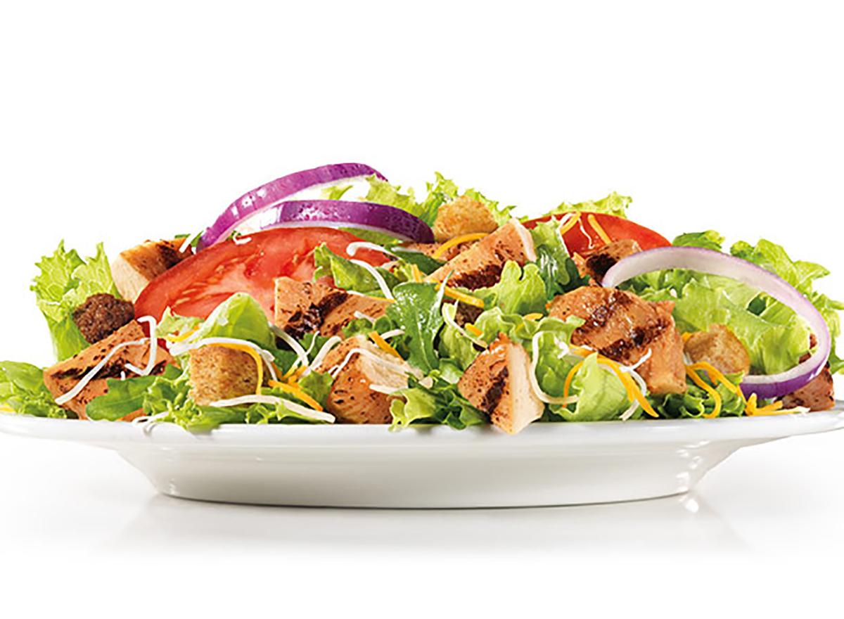 carls jr charbroiled chicken salad