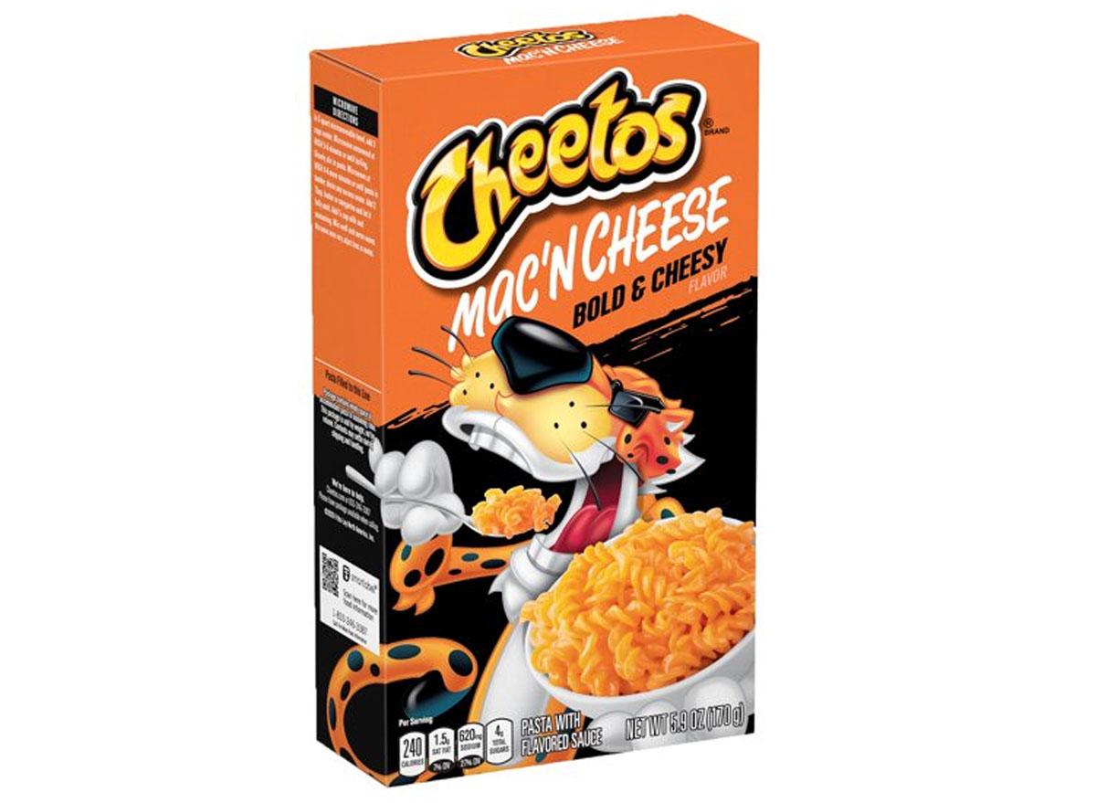 cheetos mac n cheese bold cheesy flavor box