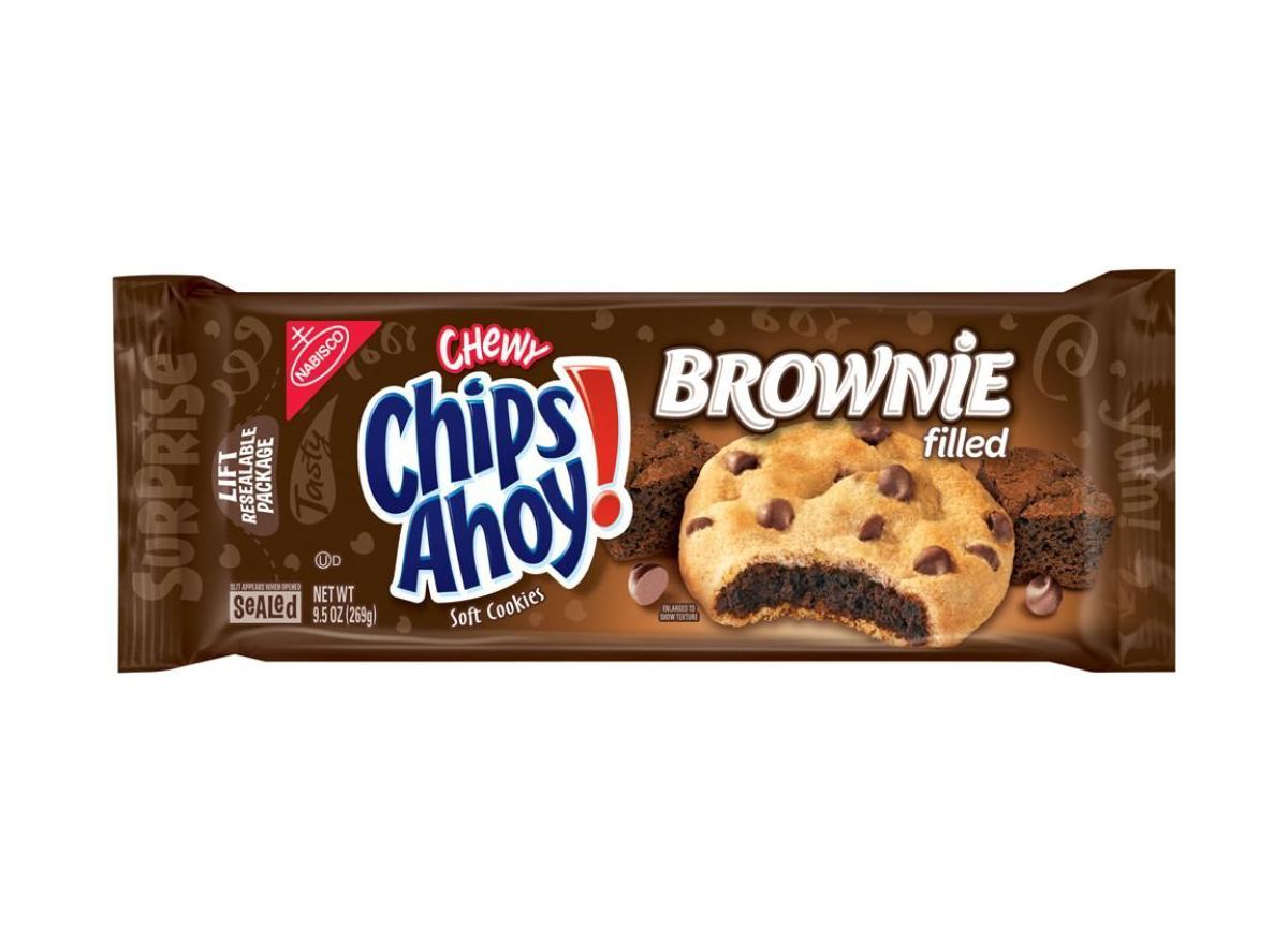 chips ahoy brownie cookies