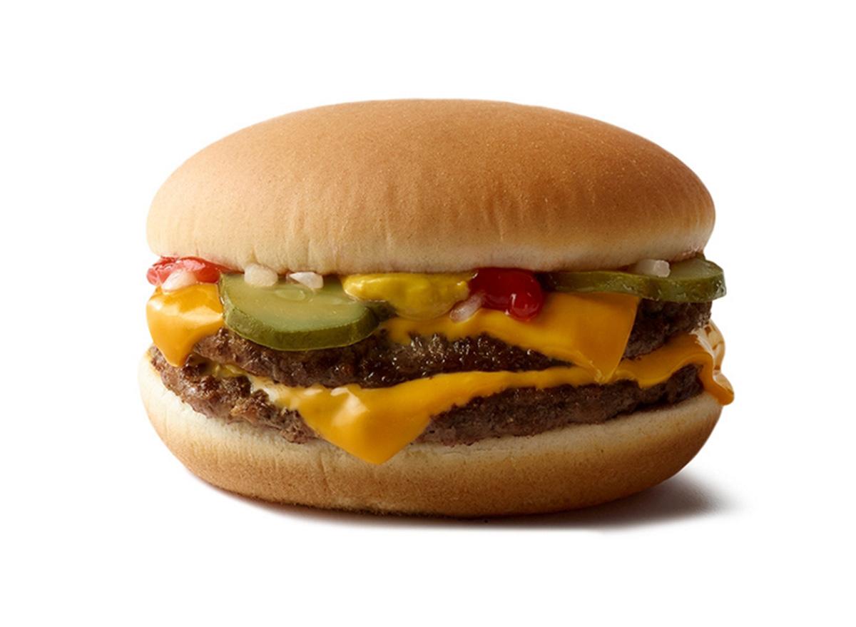 double cheeseburger mcdonalds