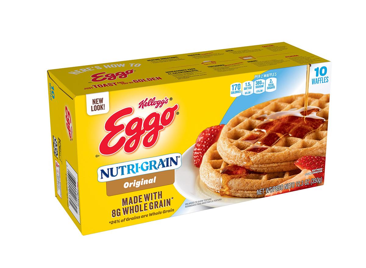 eggo nutrigrain waffles