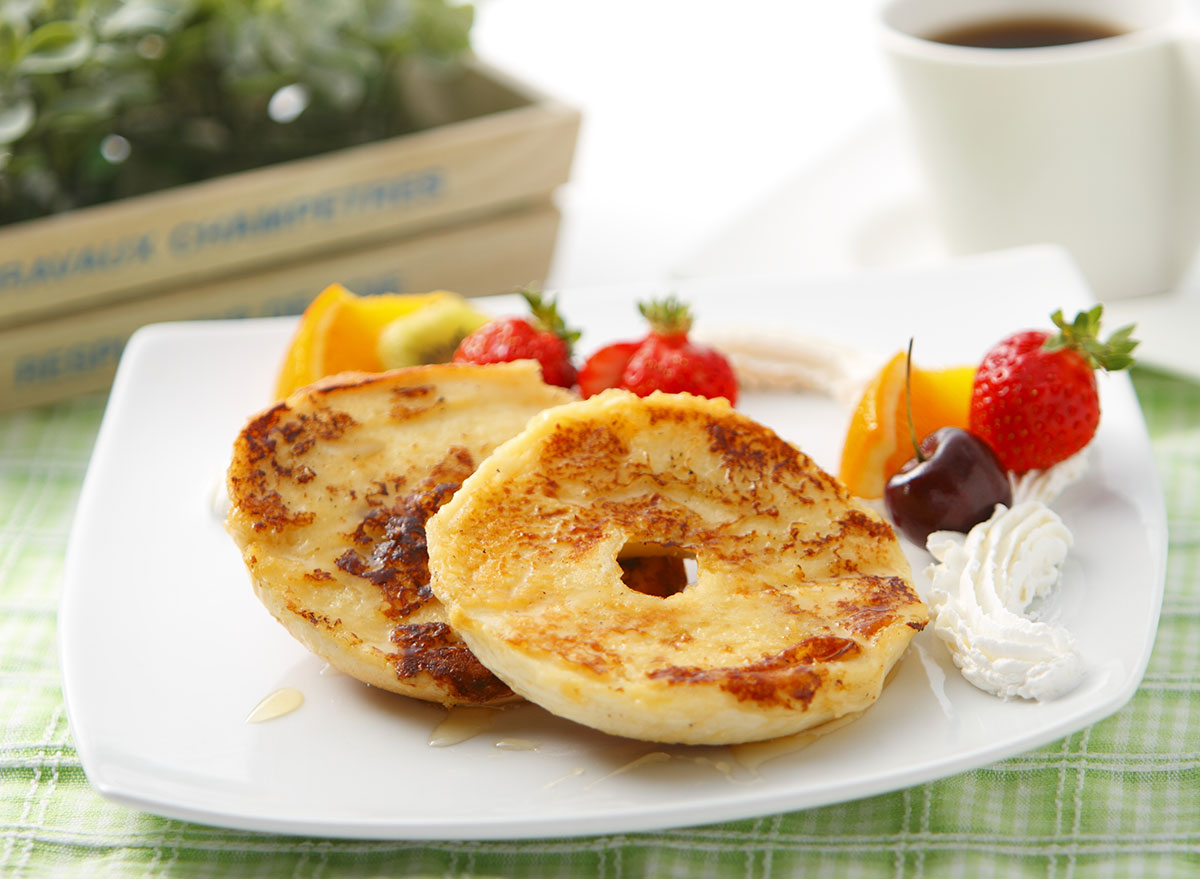 french toast bagel